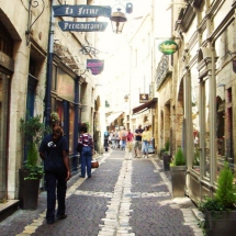 romeinse straatjes in perigueux