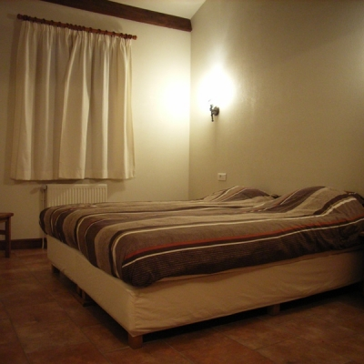 slaapkamer vakantiehuis le chene
