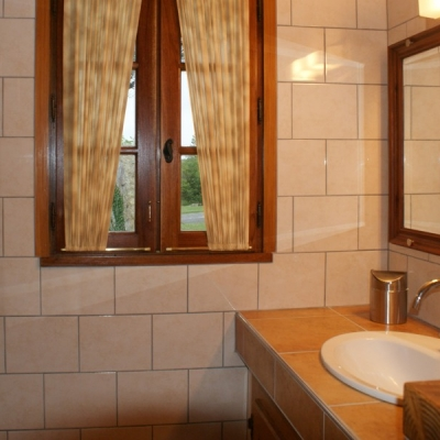 badkamer vakantiehuis le hetre