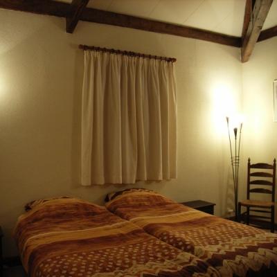slaapkamer vakantiehuis le hetre